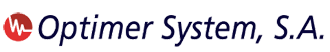 Optimer System, S.A. Mobile Logo